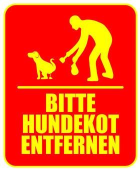 Hundekot entfernen