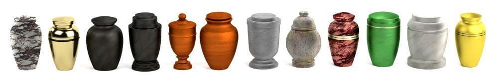 Verschiedene Urnen